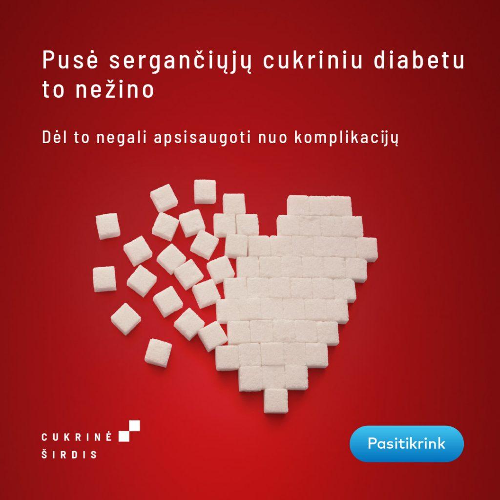 Cukrinė širdis
